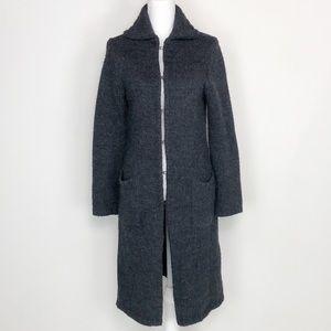 J. Crew Alapca Blend Long Sweater Jacket